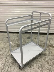 Half Height Full Sheet Bakery Pan Cart Win holt 7920 Heavy Duty Bulk Carrier