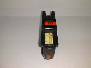 Fpe Na120 20 Amp 1 Pole Stab lok Type Na Thick Federal Pacific Breaker Red