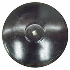 Disc Blade 22 Smooth Edge 3 16 Thickness 1 1 8 Square Axle Raised Flat Center