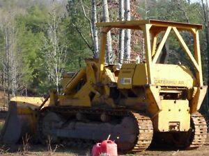 Cat 977l Crawler Track Loader Needs New Flywheel As is For Parts Repair
