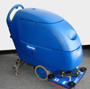 Clarke Focus Ii Boost L20 Compact Walk Behind Scrubber 24v Used Very Clean