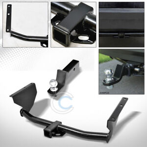 Class 3 Trailer Hitch W 2 Loaded Ball Bumper Tow Kit For 99 04 Grand Cherokee