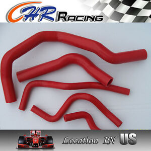 Red Silicone Radiator heater Hose For Acura honda Integra Type R Dc2 db8 B18c