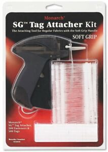 Monarch Soft Non slip Cushion Tag Attacher Kit 500 Fasteners And 500 Tags