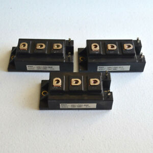 Lot Of 3 Fuji 2mbi150n 060 150a 600v Igbt Module Transistors Tested Us Seller
