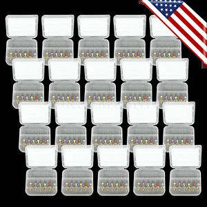 20pack Dental Rotary Universal Engine Root Canal Niti Files 25mm 6sizes Usastock