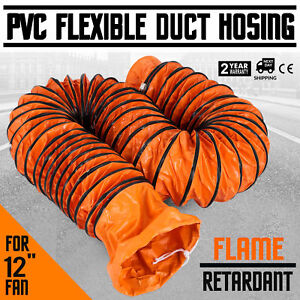 Vevor Vr1225 12 25ft Ventilation Duct Pvc Ducting Hose
