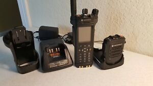Motorola Apx7000 Uhf R1 144 440mhz Ham Radio P25 Digital Ht W wireless Mic Fpp