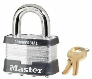 6 Pack Master Lock 5ka a334 2 Wide Keyed Alike Commercial Grade Laminated With
