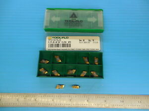 11 Pcs New Tool Flo Tf21070j5 Fltp 2r Gp3 Carbide Inserts Machine Shop Toolmaker