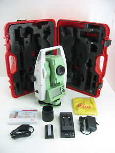 Leica Ts02 7 Total Station For Surveying One Month Warranty