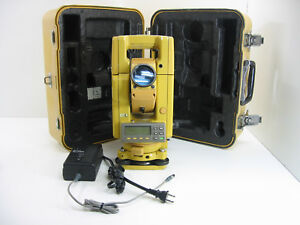 Topcon Gts 312 Total Station For Surveying One Month Warranty