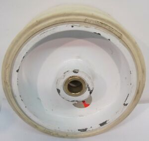Total Source 305 X 105 Non marking Forklift Wheel 31mm Hole Size