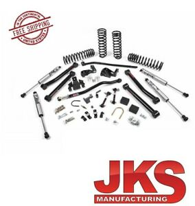 Jks Jspec 3 5 J Konnect Suspension System 07 18 Jeep Wrangler Jk 2 Door