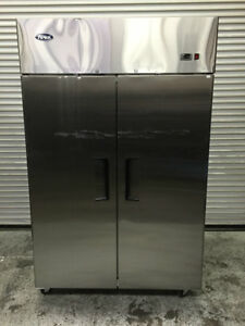 New 2 Door Top Mount Freezer Atosa Mbf8002 Scratch Dent 7931 Commercial Ding