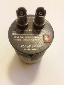 General Radio 1403 d Air Capacitor Standard