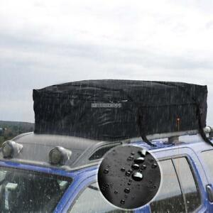 Foldable Waterproof Suv Roof Top Cargo Bag Travel Storage Box Truck Van Car Rack