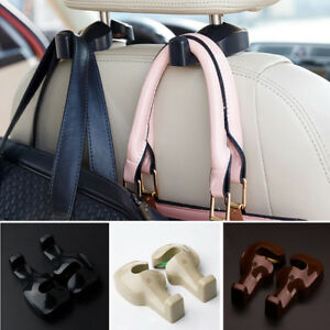 2pcs Universal Car Accessories Back Seat Hook Purse Bag Hanging Hanger Holder