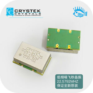 Crystek Cchd 957 Ultra low Phase Noise Crystal 100mhz Femtosecond Crystal