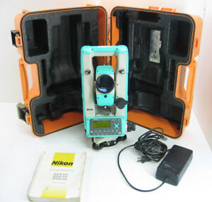 Nikon Dtm 521 Total Station For Surveying One Month Warranty