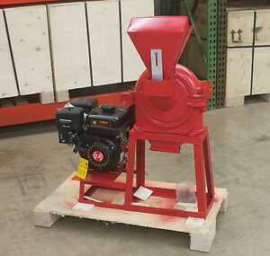 Fine Grinder Universal Mill 9 230mm 6 5hp Gasoline In Stock Free Shipping