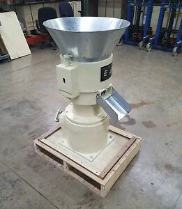 12 Pto Powered Pellet Mill W support Make Feed Or Fuel Pellets Brand New