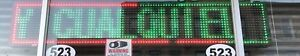 Led Sign 20 x98 Ir Programmable Scroll Message Display