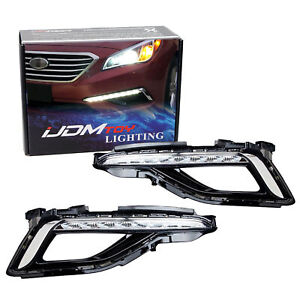 High Power Led Daytime Running Light Drl Lamps For 15 Up Hyundai Sonata Se Model