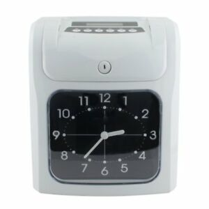 Electronic Employee Analogue Time Recorder Clock Card Monthly weekly bi weekly A