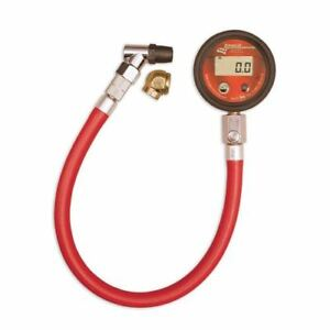 Longacre 52 53036 2 Basic Digital Tire Pressure Gauge 0 60 Psi 14 Hose