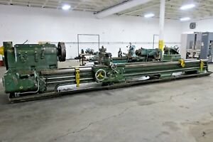 Monarch Nn 36 X 22 Engine Lathe Monarch Lathe Engine Lathe 44 Swing