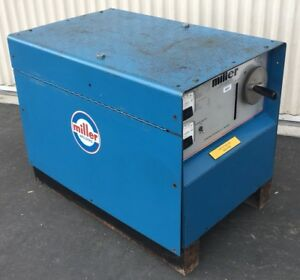 Miller Cp 250sm Mig Welding Power Source 208 230 460v 3 Phase Serial S414948