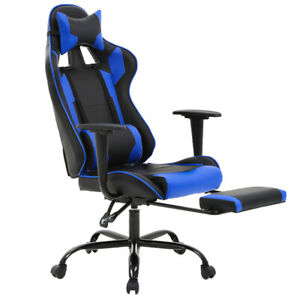 New Gaming Chair Racing Style High back Office Chair Lumbar Support And Headrest