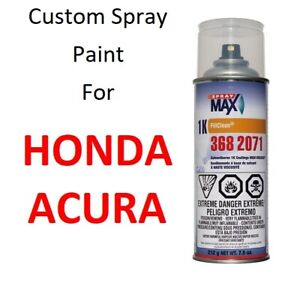 Custom Automotive Touch Up Spray Paint For Honda And Acura Cars