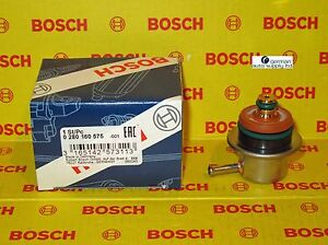 Audi Volkswagen Fuel Pressure Regulator Bosch 0280160575 New Oem Vw