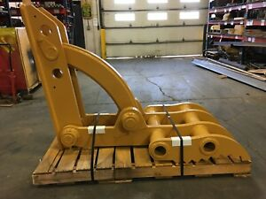 New 34 X 65 Heavy Duty Mechanical Thumb For Backhoes