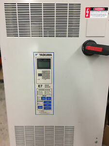 Yaskawa E7l Drive bypass 25hp Model Nb15058400a Buyer Pays Shipping In Us