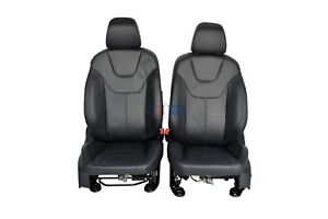 2017 Ford Focus Front Row Bucket Seats Black Leather