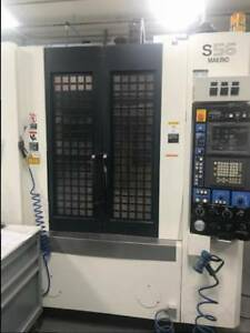 2004 Makino S56 Vertical Machining Center 1957