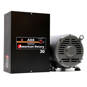 American Rotary Adx30 30hp 240v Wall Mount Adx Series Rotary Phase Converter