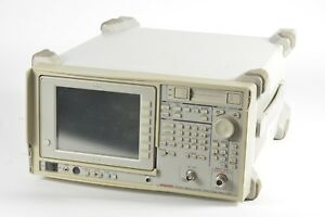 Advantest R3463 Modulation Spectrum Analyzer 9khz To 3ghz W Options 09 15 61
