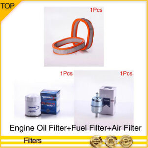 Pronto Filter Engine Oil Fuel Air Filter 3pcs For 1984 Buick Century V6 2 8l