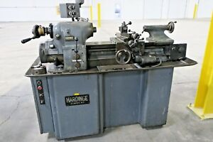 Hardinge Hlv h Tool Room Lathe Tool Post Tailstock Coolant System Usa Made