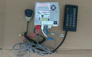 Whelen Cen Com Gold System Connection Map W Control Head And Intercom