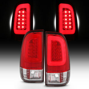 New Red 2008 2016 Ford F250 F350 F450 F550 Led Tube Tail Lights Lamps Left Right