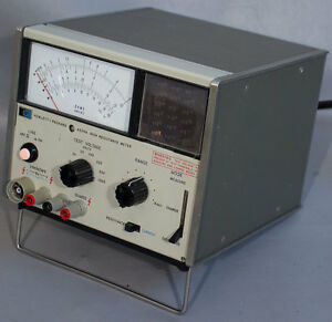 Hp agilent keysight 4329a High resistance Meter