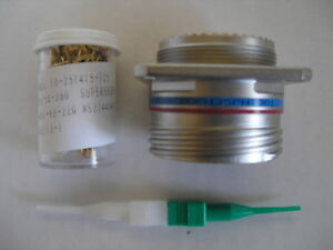 Amphenol D38999 20fh35pn Circular Mil spec Connector Plug With Contacts
