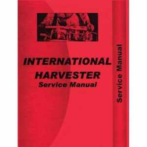 Service Manual 354 364 2300a International 354 354 2300a 2300a 364 364