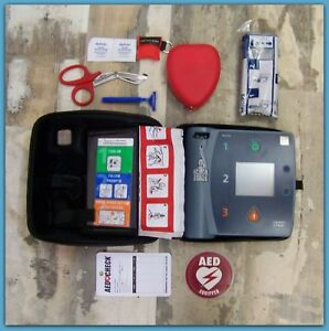 Philips With Ecg Fr2 2022 Battery 2020pads Aed Defibrillator M3860 Heartstart