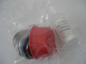 Deutsch Ms3476l22 55pw Circular Mil spec Connector With Contacts